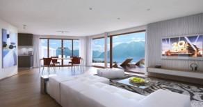 Продажа квартиры в Террите (Territet), Швейцария 4.5 комнаты